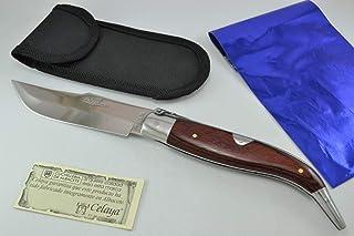 Couteau Classic Albacete Celaya Aluminium Bois Rouge 10,90 cms