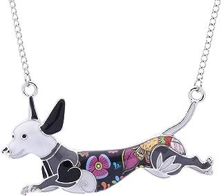 Best dachshund pendant necklace Reviews