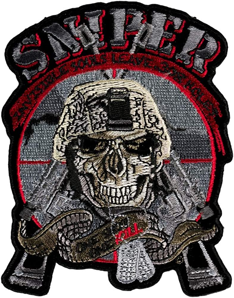 Sniper Invisible Souls Small Free shipping anywhere in the Popular popular nation Size Patch