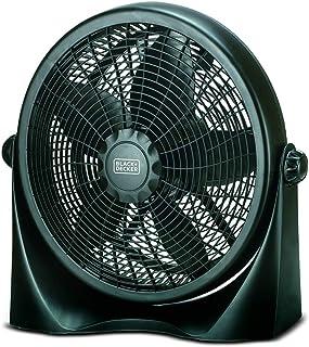 Black+Decker 16 Inch Box Fan, Black - FB1620-B5, 2 Year Warranty