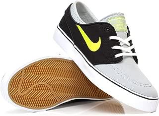 NIKE Zoom Stefan Janoski Canvas Grey, Black, Green Skate Shoes