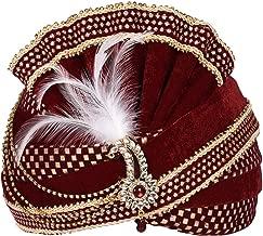 Men Turban for Wedding Royal Maharaja Satin Pagadi