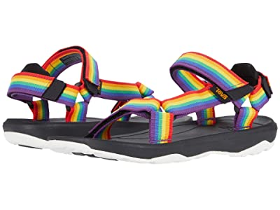 Teva Kids Hurricane XLT 2 (Little Kid/Big Kid) (Rainbow/Black) Kids Shoes