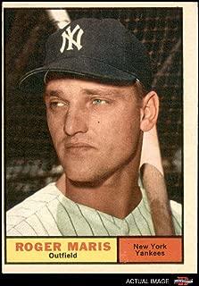 1961 Topps # 2 Roger Maris New York Yankees (Baseball Card) Dean's Cards 3 - VG Yankees