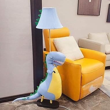 Floor Lamp Modern Decorative Floor Lamp Cute Plush Dinosaur Reading Standing for Kids Boys Girls Living Room Bedroom Office L