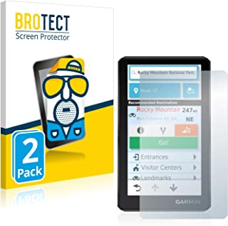 BROTECT 2x Antireflecterende Beschermfolie compatibel met Garmin zumo XT Anti-Glare Screen Protector, Mat, Ontspiegelend