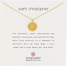 Saint Christopher Travelers Reminder Necklace
