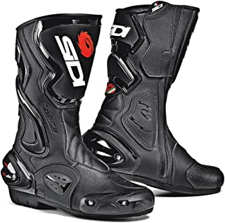 Sidi Cobra Motorcycle Boots Black US12.5/EU47 (More Size Options)