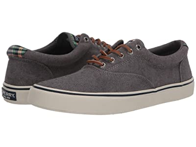 Sperry Striper II CVO Distressed (Dark Grey) Men