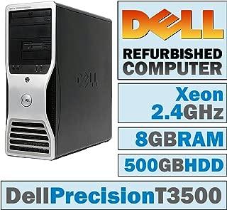 Dell Precision T3500 MT/Xeon W3503 @ 2.40 GHz/8GB DDR3/500GB HDD/DVD-RW/No OS
