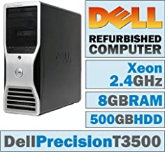 Dell Precision T3500 MT/Xeon W3503 @ 2.40 GHz/8GB DDR3/500GB HDD/DVD-RW/No OS