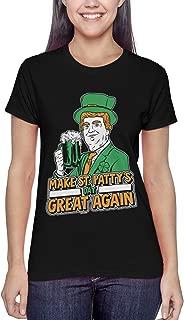 Make St. Patty's Day Great Again - Trump Ladies T-Shirt