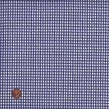 Textiles français 100% Baumwolle Stoff | Blau |
