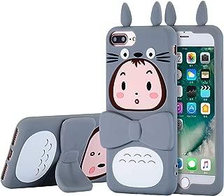TopSZ Totoro Case for iPhone 8 Plus /7 Plus /6 6s Plus +5.5