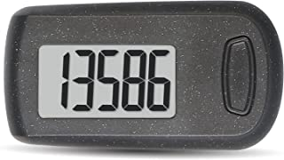 HUABOLA CALYN Simple Walking 3D Pedometer Step Counter with Clip and Lanyard &Safety Leash