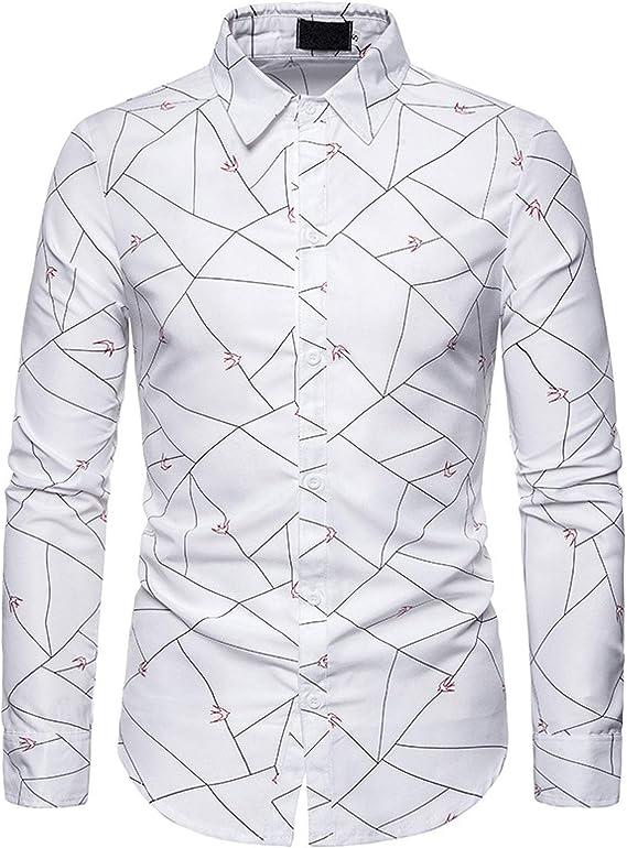 Camisas de Hombre con decoración de patrón Personalizado ...