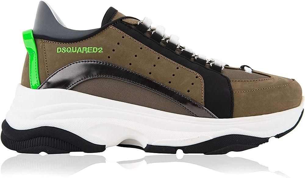 Dsquared2 bumpy scarpe sneakers da uomo 551 M1682