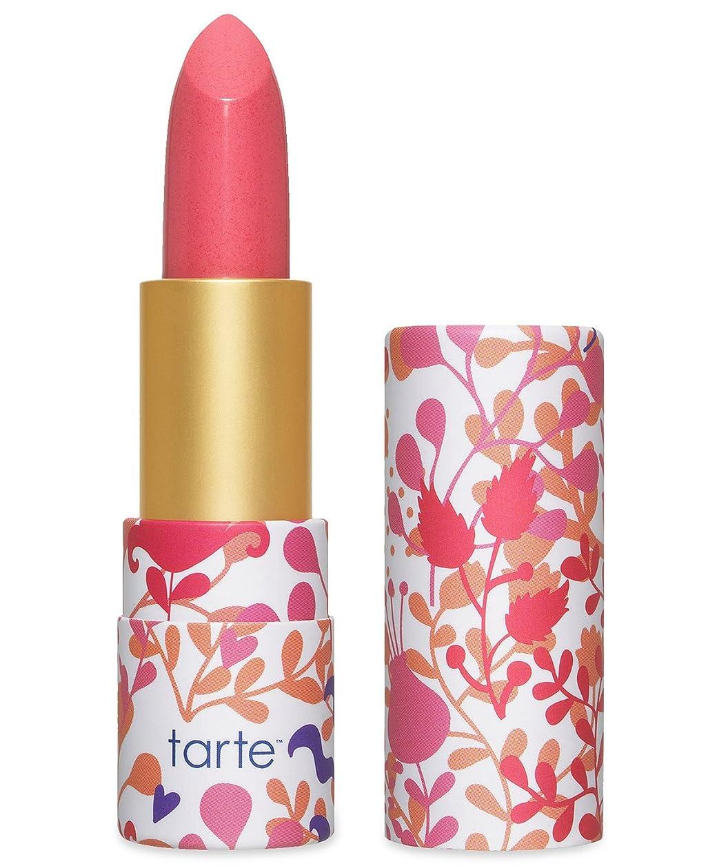 永続手数料熟達Tarte Amazonian Butter Lipstick ターテ アマゾニアン バターリップステック Pink Peony [並行輸入品]