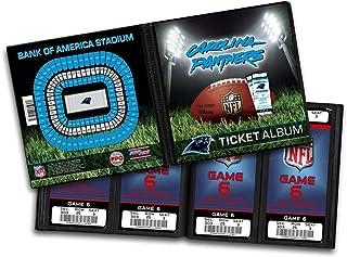 NFL Carolina Panthers Ticket Album