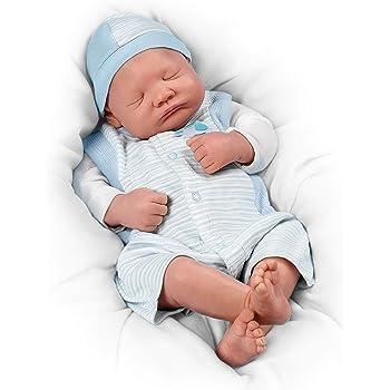 Ashton Drake - Reborn 'Welcome Home' Baby Boy Doll by ...