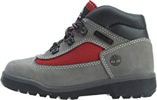 Timberland Kids Baby Boy's Fabric/Leather Field Boot (Toddler/Little Kid)