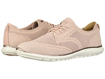 Hush Puppies Tricia Wing Tip Knit (Pale Rose Knit) Women