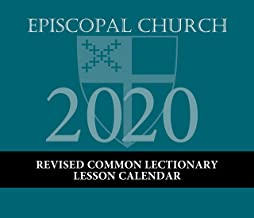 Episcopal Church Lesson Calendar RCL 2020: December 2019 to December 2020