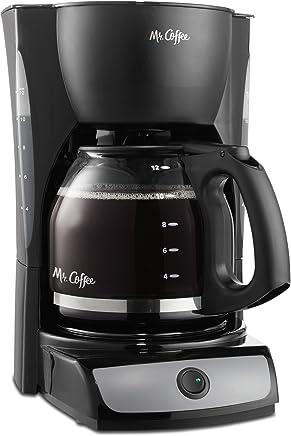 Mr. Coffee CG Interruptor de 12tazas cafetera, Negro, 1 (Renewed)