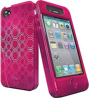 iSkin Solo FX 保护套适用于苹果 iPhone 4 粉色