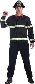 Men's Men with Power Fireman Coat Costume