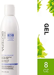 Biotera Hypoallergenic Ultra Gentle Clean Gel, with Soothing Chamomile, Formulated without Fragrance, Dyes, Gluten or Parabens, 8-Ounce