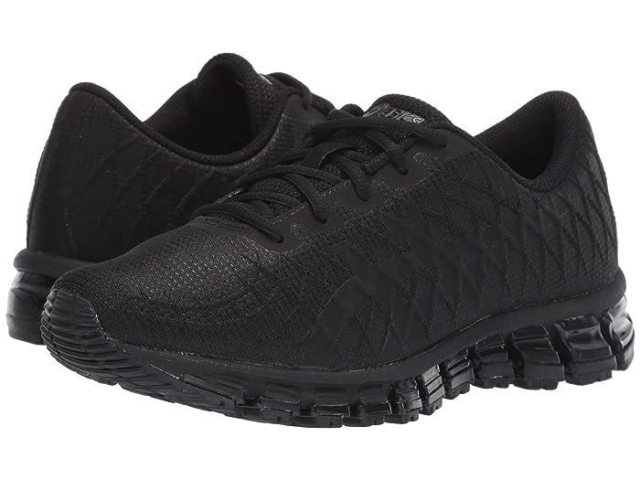 ASICS  GEL-Quantum 180 4 (Black/Black) Womens Running Shoes