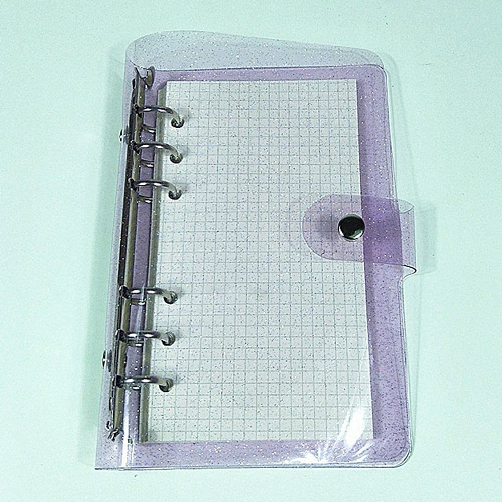 Supplies Stationery Planner Cover A5 Max 64% OFF A6 Elegant 6 Rings Folder A7 Binder