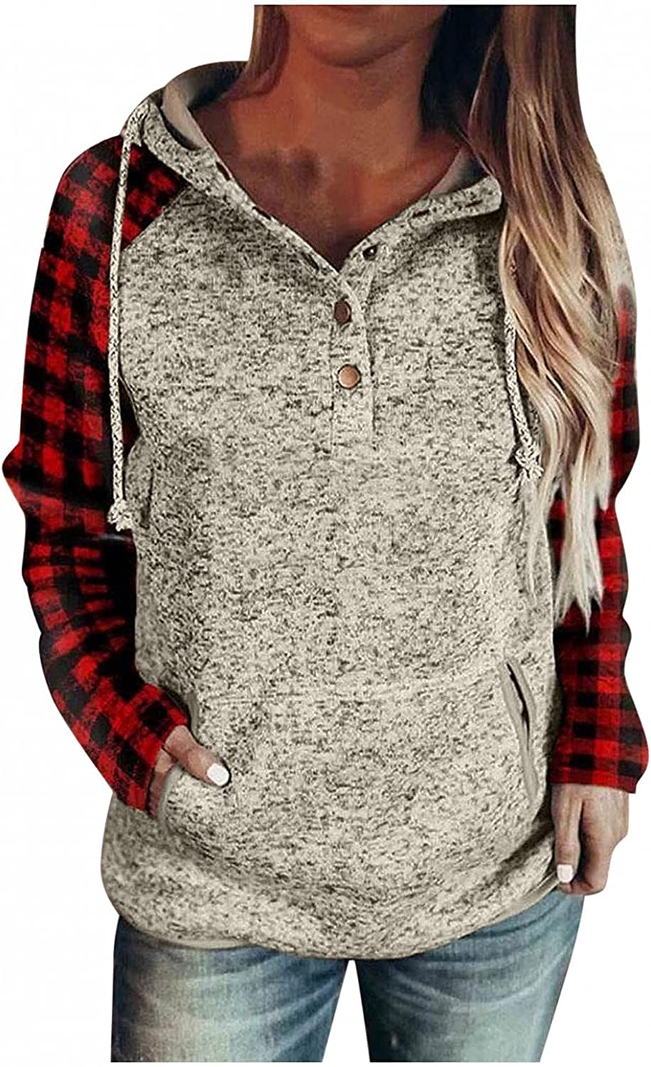 UOCUFY Hoodies for Baltimore Mall Women Womens Sleeve To Dealing full price reduction Long Pullover