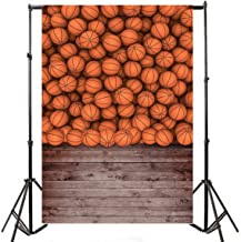 Yeele 5x7ft Basketball Sports Photography Backdrops Vinyl Children Students Boy Kids Sports Theme Vintage Wood Floor Wall Scene Background Photo Shoot Video Studio Props