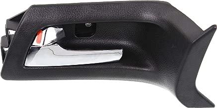 ECCPP Door Handle Interior Inner Inside Front Driver Passenger Side for 1982-1992 Chevrolet Pontiac Black
