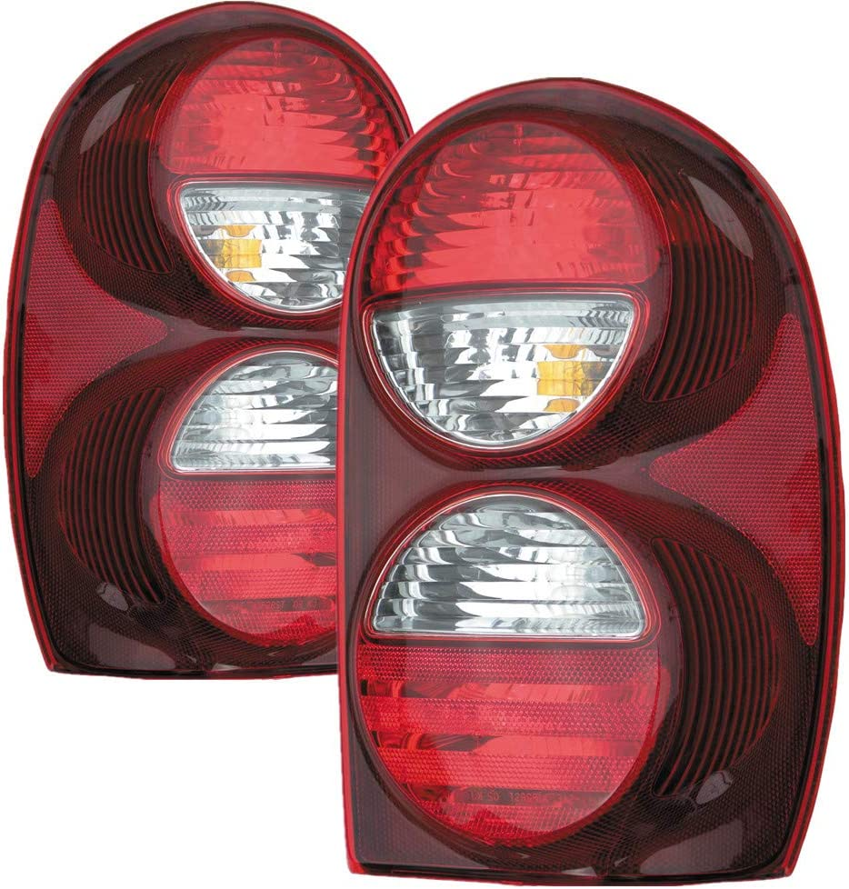 For Jeep Liberty Outer 数量限定アウトレット最安価格 Tail Light and 2007 Driver 激安 激安特価 送料無料 Pass 2006 2005