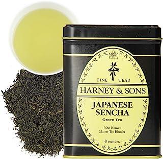 Harney & Sons Japanese Sencha Green Tea, Loose tea in 8 Ounce tin (12122)