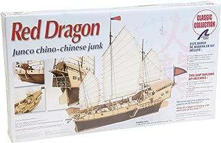 Artesanía Latina 18020 - Maqueta de barco en madera: Red Dragon 1/60
