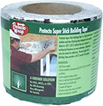 "Protecto Wrap Super Stick Building Tape 4"" x 75' Roll"