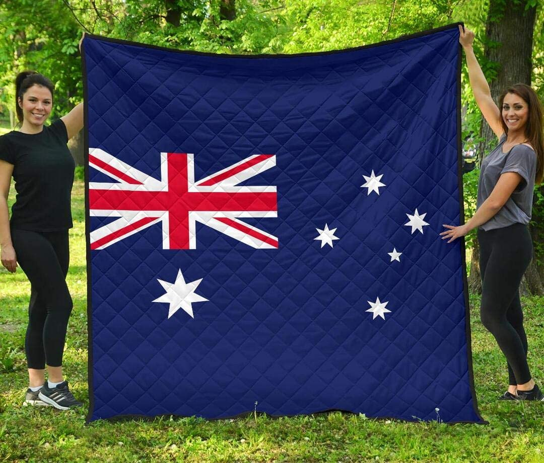 Nakami Personalized Australia Quilt Financial sales sale Large special price Day Valentine's Gift