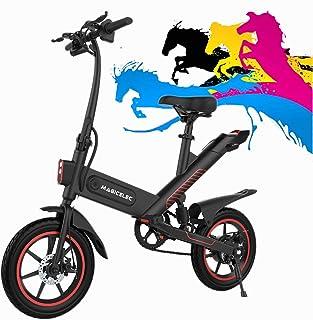 Bicicleta Eléctrica Adultos Motor de 350w,Iluminación LED,