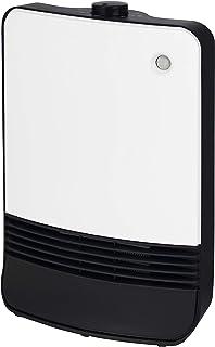 [山善] セラミックファンヒーター 人感センサー搭載 ハイパワー 1200W 最大8畳 省エネ 暖房出力2段階切替 ホワイト DSF-TK12(W) [メーカー保証1年]