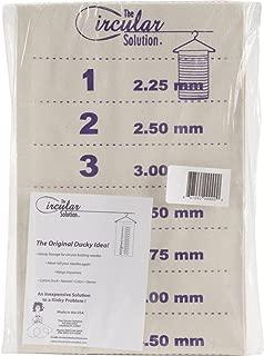 The Circular Solution Circular Knitting Needle Numbered Storage Unit - Natural