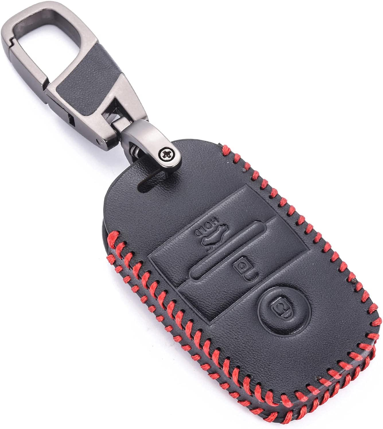 WOLDce Car Key Fob Cover Smart 40% OFF Cheap lowest price Sale Leather Fit K3 Kia K for Case