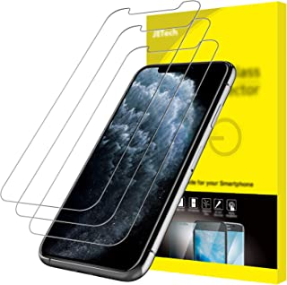 JETech Screen Protector for iPhone 11 Pro, iPhone Xs and iPhone X 5.8-Inch, Tempered Glass Film, 3-Pack