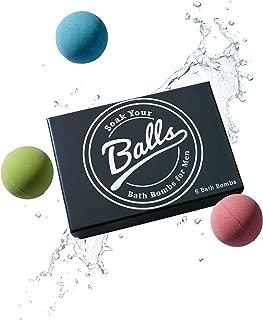 Men's Bath Bomb Set of 6 by Soak Your Balls