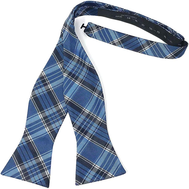 Cardi Madison Plaid Self Tie Bow Tie