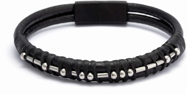 Morse Code Leather Bracelets for Men Women Boys Gifts for Women Funny Inspirational Bracelets for Girl Friends Daughter Mom