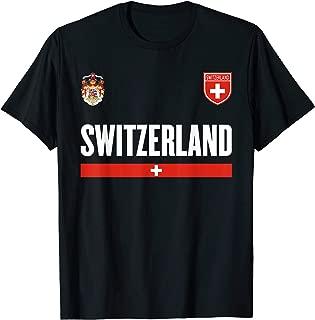 Switzerland Soccer Jersey 2017 - Swiss Pride T-Shirt
